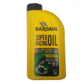 Botella de Aceite de Motor Bardahl Multigrado Mineral SAE 20W-50
