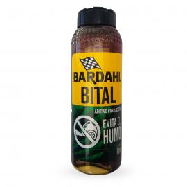 Botella de Aditivo Bardahl Bital Cortador de Humo Azul