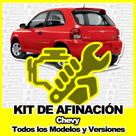 Kit de Afinacion para Chevy C1, C2, C3, Chevy Pick up, Chevy Monza
