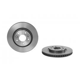 Disco de Freno Delantero Ventilado con Laca UV Brembo para XTrail