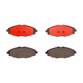 Juego de 4 Balatas Premium Ceramica Delanteas Brembo para Matiz