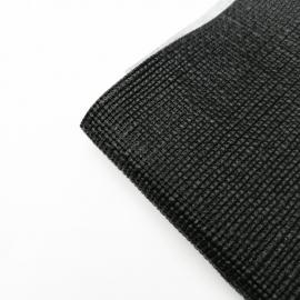 Kit Completo de 1 Toldo y 2 Postes con Textura de Yute Color Negro para VW Sedan