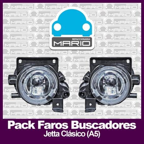 Pack de faros buscadores para Jetta Clásico