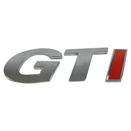 """Letrero para pointer """"GTI"""""""