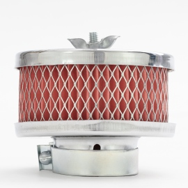 Portafiltro de Aire Cromado para VW Sedan 1500, 1600, Combi 1500, 1600, Brasila, Safari, Hormiga