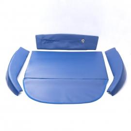 Kit de Vestiduras de Cofre Color Azul Rey para VW Sedan 1600, 1600i