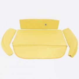 Kit de Vestiduras de Cofre Color Amarillo para VW Sedán 1600, 1600i