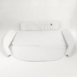Kit de Vestiduras de Cofre Color Blanco para VW Sedán 1600, 1600i
