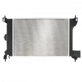 Radiador de Agua de Motor con Aire Acondicionado Unicar para Sonic