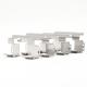Juego de 4 Balatas de Freno Delantero Ceramic LowMet Fritec para Trax, Cruze
