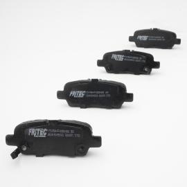 Juego de 4 Balatas de Freno de Disco Trasero Fritec para Altima V6 L32A, L33, 370Z, Maxima, Juke, Rogue, Sentra B17, X-Trail