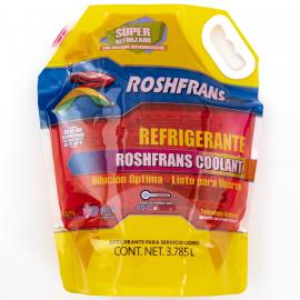 Galón de Anticongelante Color Rosa Listo para Usarse Roshfrans