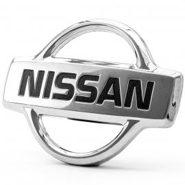 Emblema NISSAN Cromado de Parrilla Frontal para Sentra B14