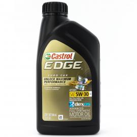 Botella de Aceite Castrol Edge SAE 5W-30 Sintético para Motores a Gasolina y Diésel