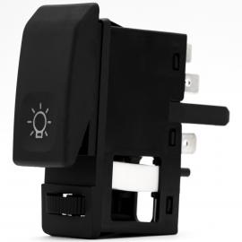 Switch Interruptor de Luces de Faro Bruck para VW Sedan 1600i, Combi 1800, Golf A2, Jetta A2