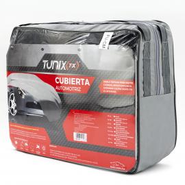 Funda Universal Afelpada Repelente de Sol y Elementos Tunix para Vehículos Medianos