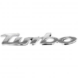 "Letrero Cromado ""Turbo"" Mirsa para Beetle"