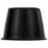 Copa Negra de Rin con emblema VW para VW Sedan 1600, 1600i