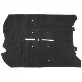 Alfombra Negra Completa de Piso Interior Tipo Original para Tiida