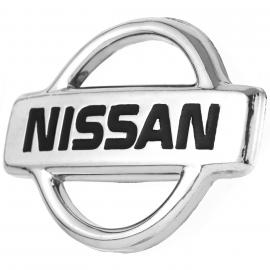 Emblema Cromado de Parrilla Nissan para Tsuru 3, Sentra B14, Pick Up D21