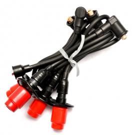 Juego de 5 Cables de Bujía de Motor con Encendido Convencional Beru para VW Sedan, Combi 1600, Safari, Brasilia, Hormiga