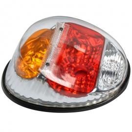 Calavera con mica Transparente Tipo SPORT para V.W. Sedan 1600, 1600i