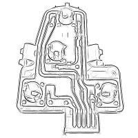 Placas Porta Focos