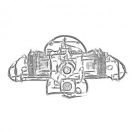 1/2  Motor
